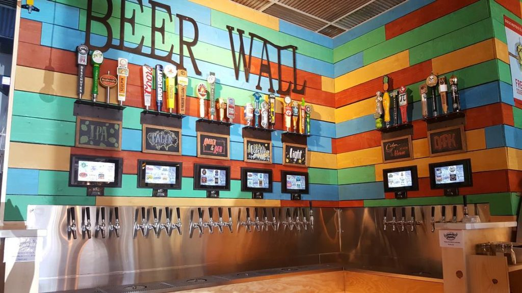 Craft Beer Wall by PourMyBeer