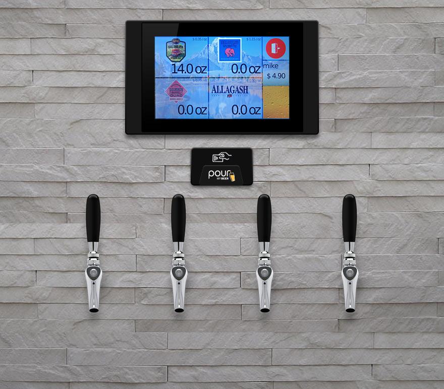 4 taps per screen