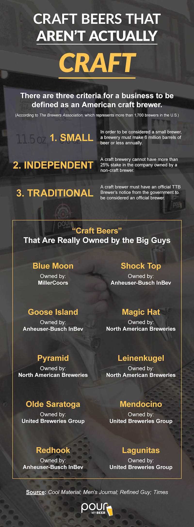 PourMyBeer craft beer infographic