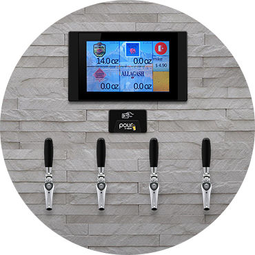 Self Serve Beer Wine Pouring System Wall Tech