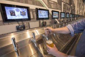 self pour increases sales