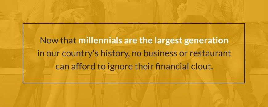 Millennials Matter to Restaurants