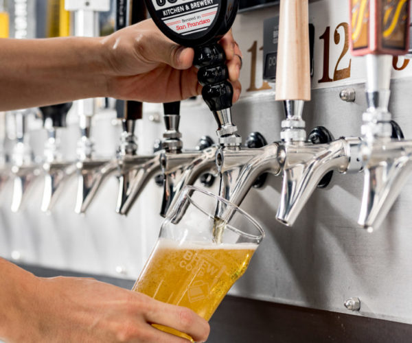 PourMyBeer self-serve system in San Francisco