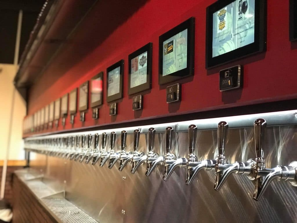 Carolina Tap House with its PourMyBeer Self-serve system