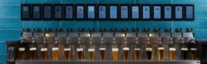 beverage wall with lots of beers