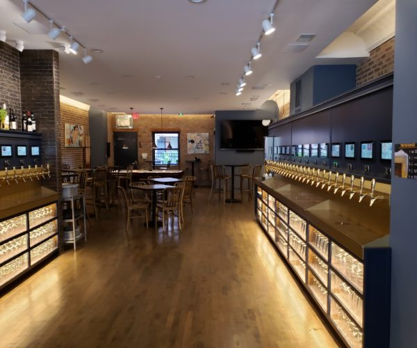 Flourish in IL serves everything from wines to liquor on their self-pour taps
