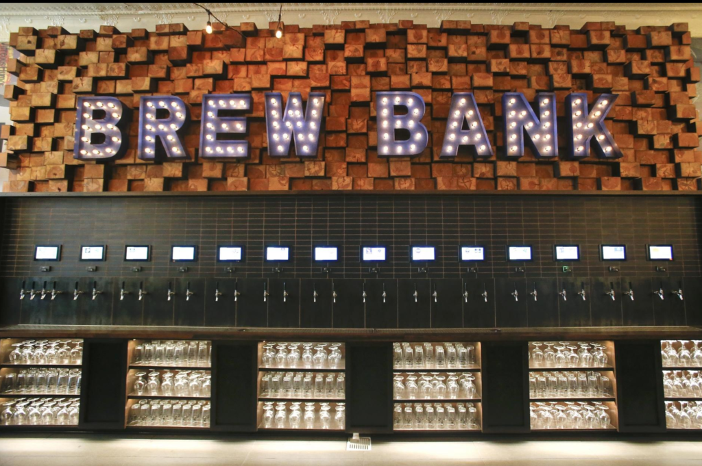 13 PourMyBeer screens, 26 self-pour taps