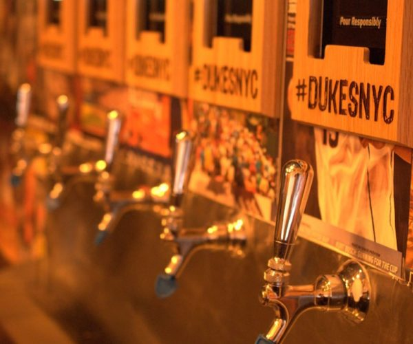 Duke's in NYC utilizes PourMyBeer