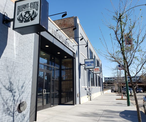 District Brew Yards PourMyBeer Location in Chicago