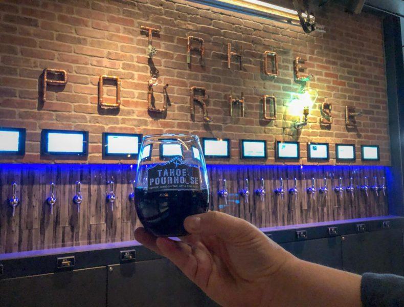 Wine self-pour