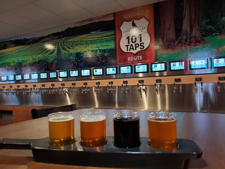 Coyote Valley Tap Wall