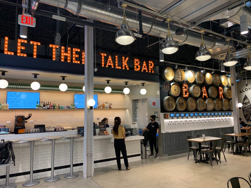 H Mart PourMyBeer Beverage Wall