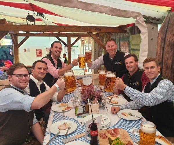 PMB team at Oktoberfest