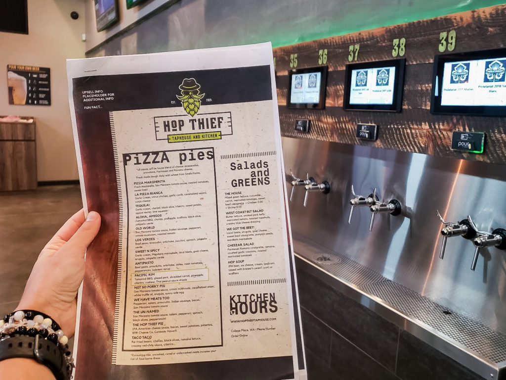 Hop Thief Taphouse & Kitchen Menu