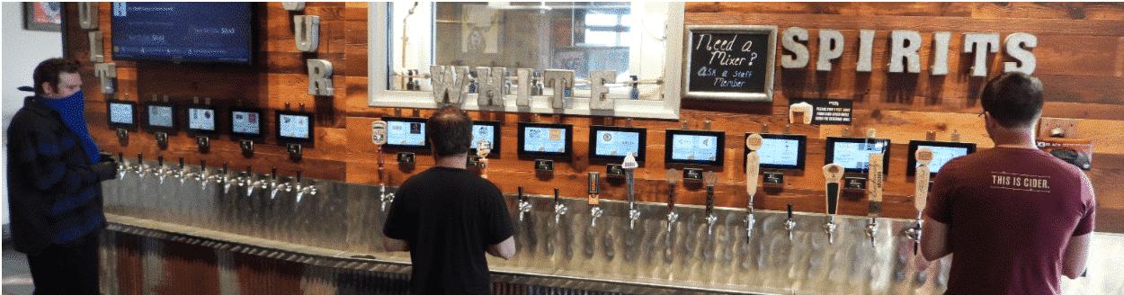 Social Distancing at a Taproom & Brewery