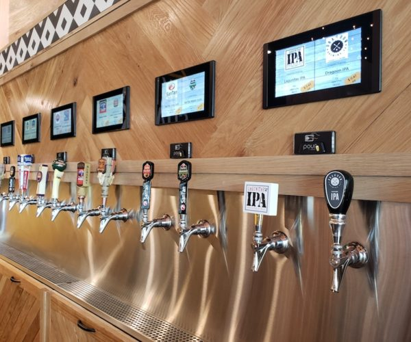 Draft Beer Wall with Remote Dispensing
