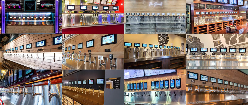 PourMyBeer beverage wall collage