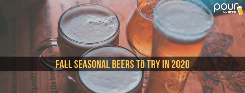 fall seasonal beers photo