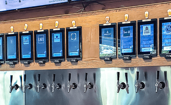 PourMyBeer beverage wall