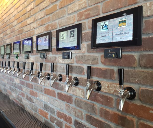 pourmybeer on brick wall