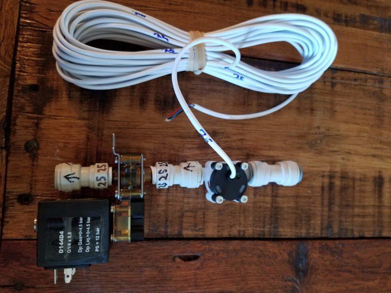 PourMyBeer LD Valve and Flowmeter
