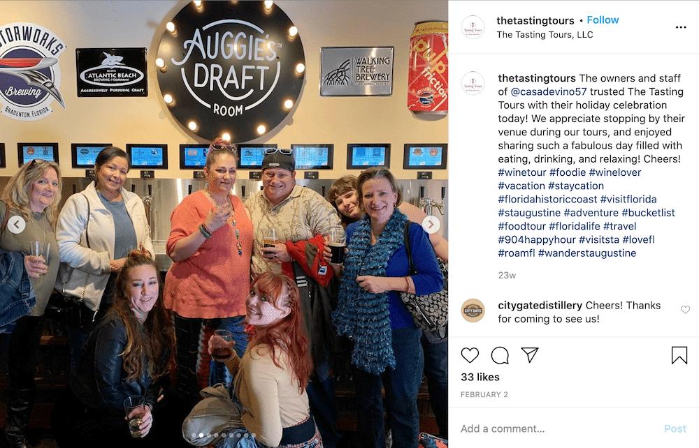 auggies draft beer wall