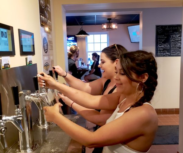 PourMyBeer self-pour beverage wall in Florida