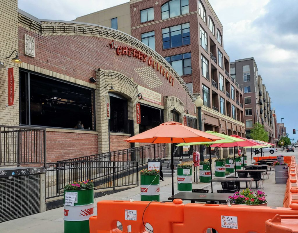 Expanded Outdoor Seating the promote everyday protective measures at restaurants