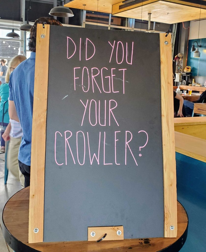 PourMyBeer growler reminder