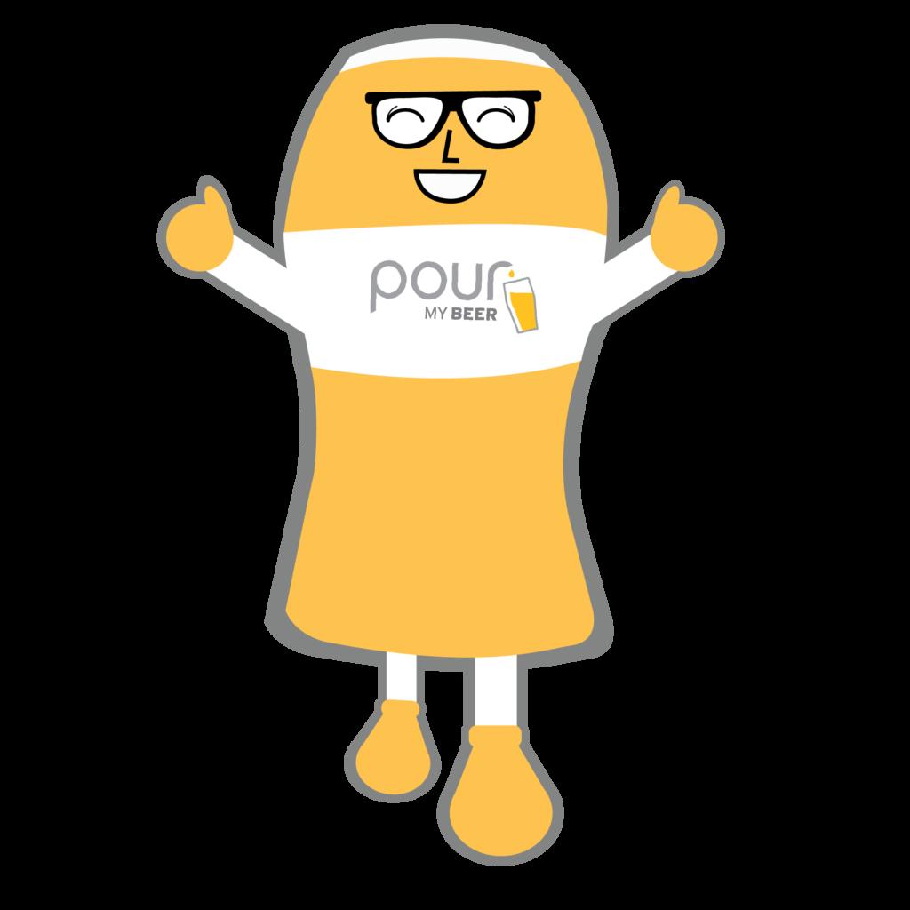 pourmybeer mascot