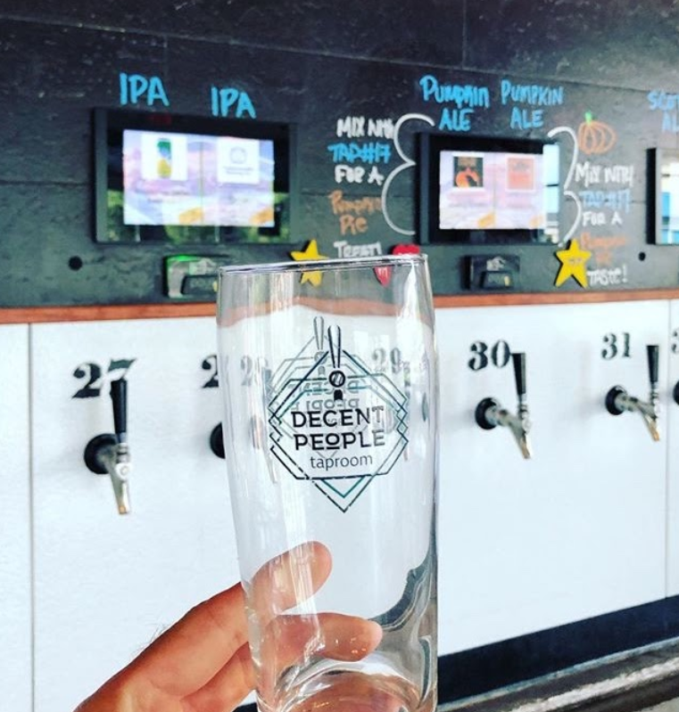 PourMyBeer Tech at decent people brewing