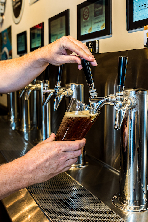 pouring your own beer