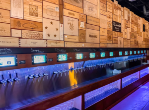 Wanderlust Winery utilizing PourMyBeer self-serve tech