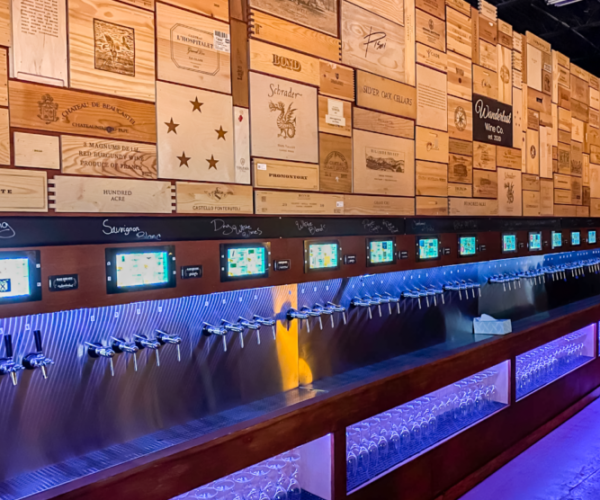 Wanderlust Winery utilizing PourMyBeer self-serve tech