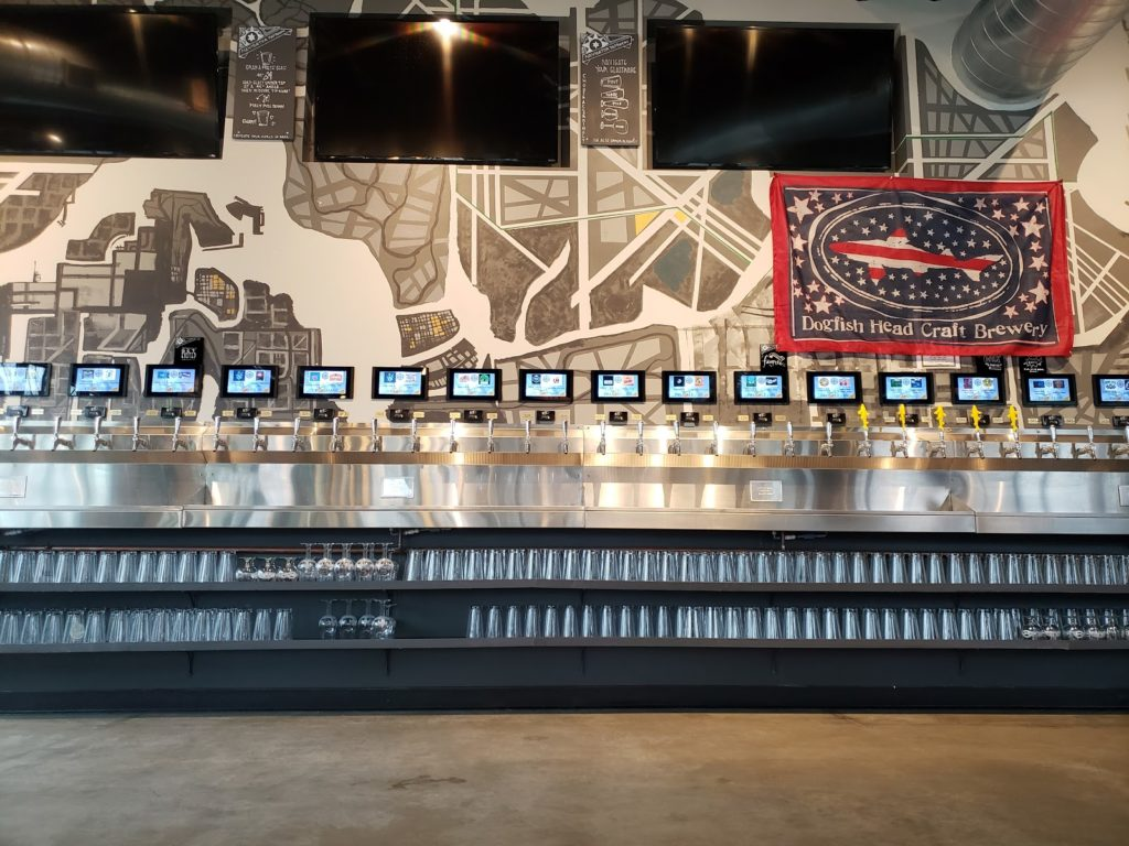PourMyBeer self-pour beverage wall in Chicago