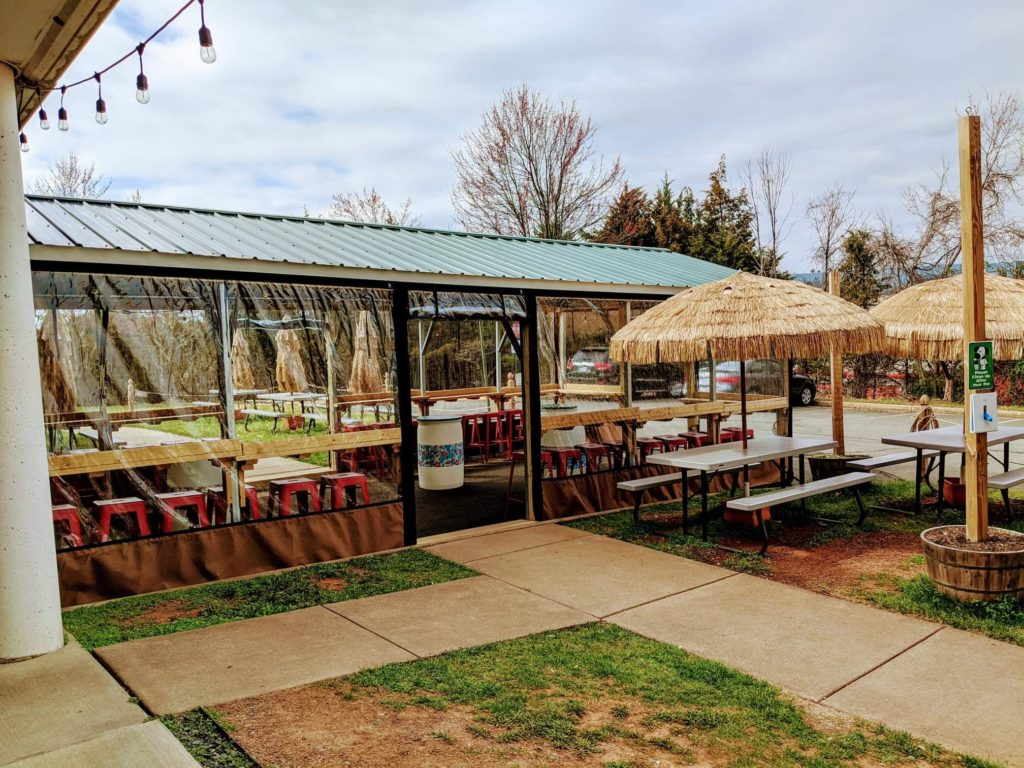 Ono Brewing Company COVID Outdoor seating
