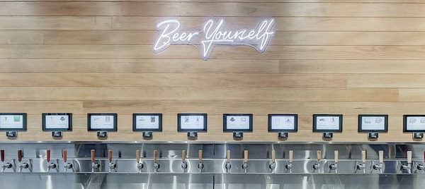 PourMyBeer self-pour beverage wall