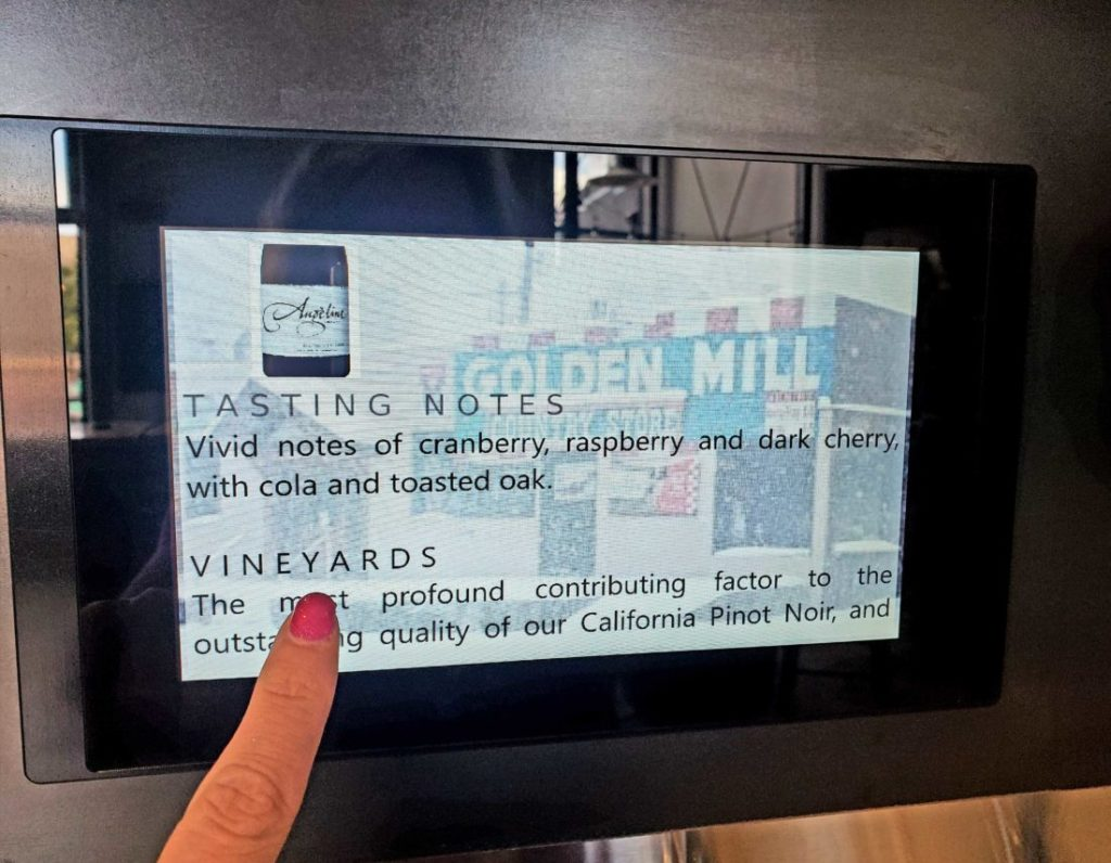 PourMyBeer Screen Showing Tasting Notes