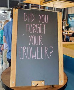 did you forget your growler signage