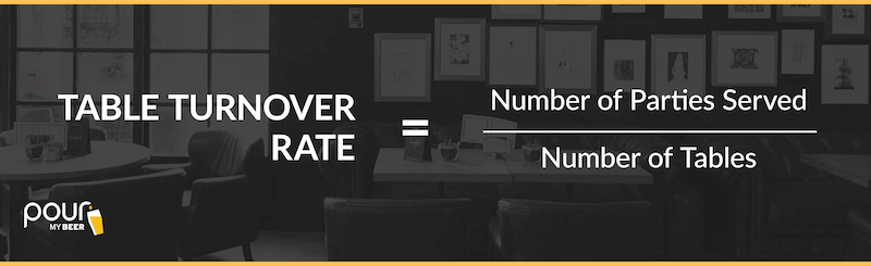 table turnover rate graphic