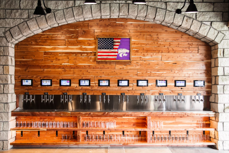 PourMyBeer Wall in Goolsby's