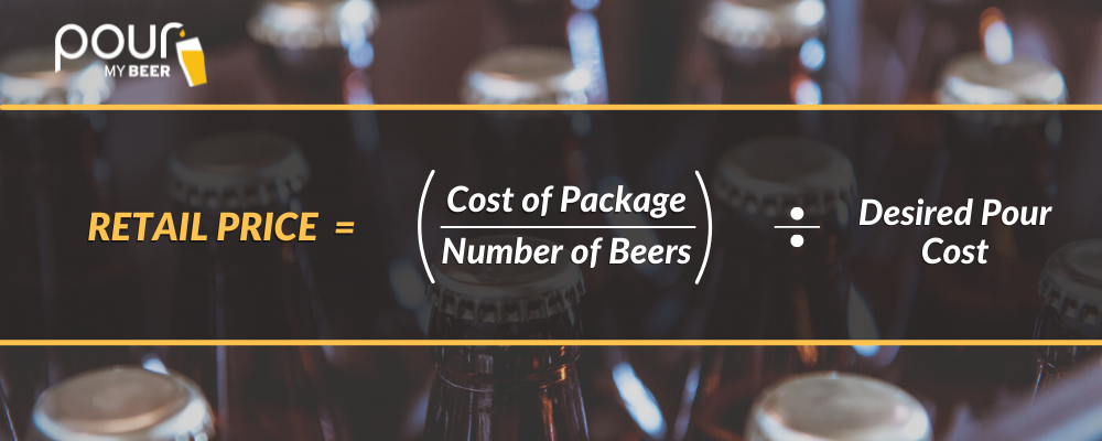How to Calculate the Price of Bottled/Canned Beer