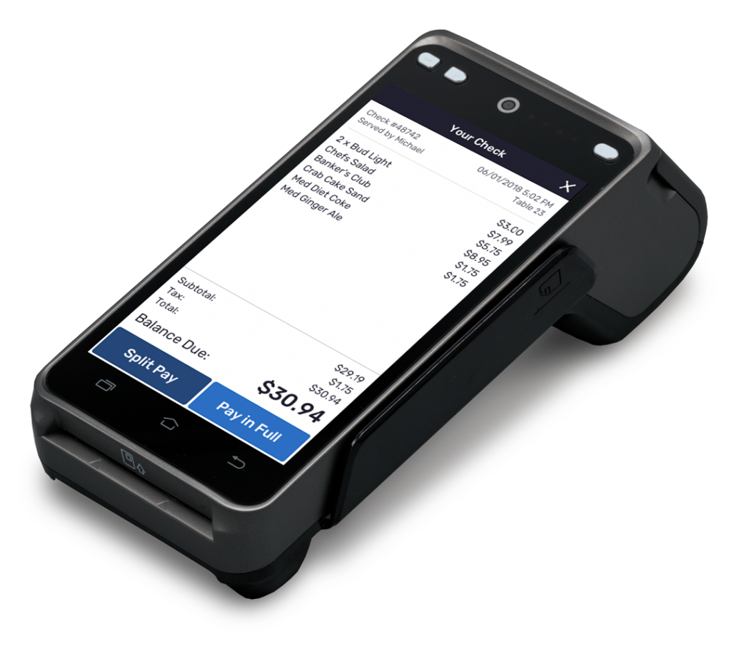 positouch skytab pay at table
