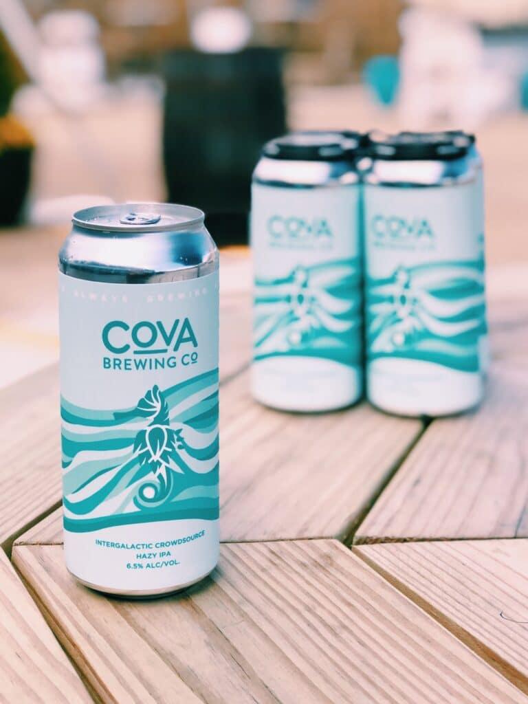 COVA Brewing Hazy IPA Can