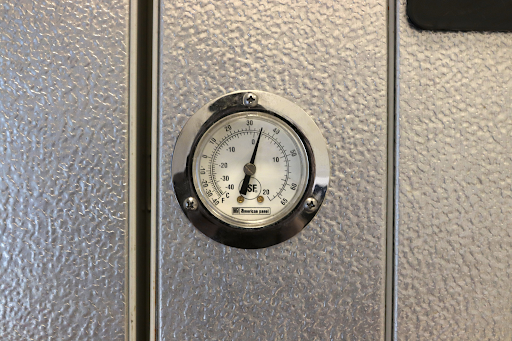 proper cooler temperature