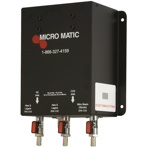 micro matic gas blender