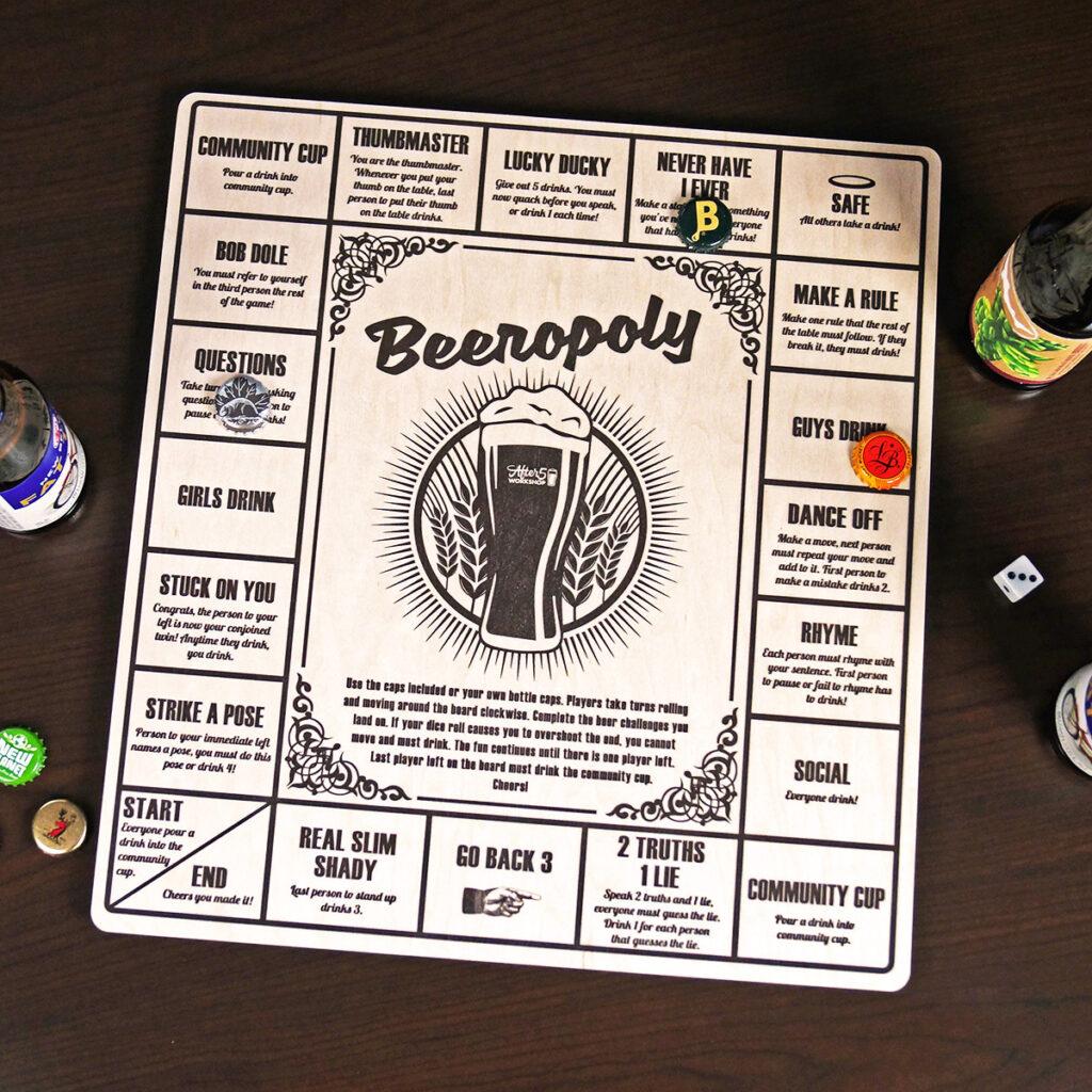 Beeropoly Bar Game