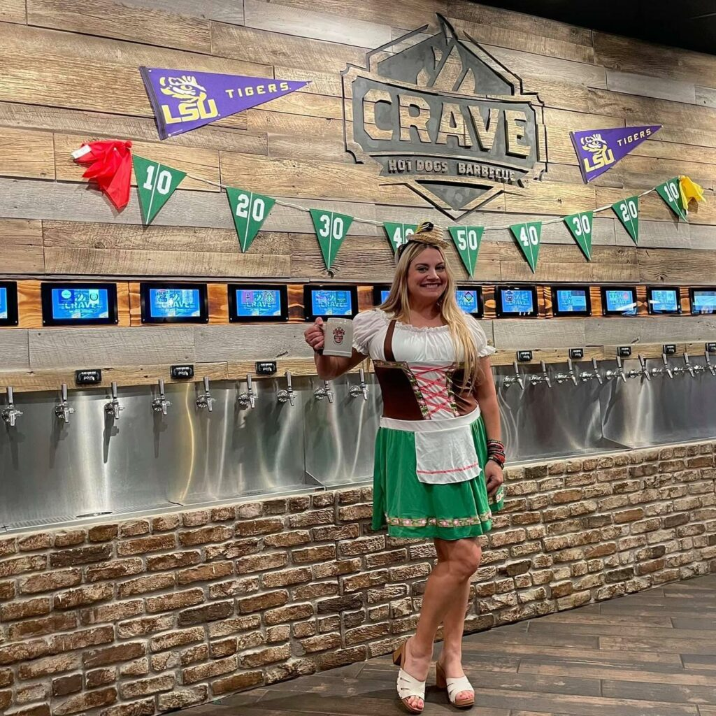 Oktoberfest at Crave Hot Dogs and BBQ