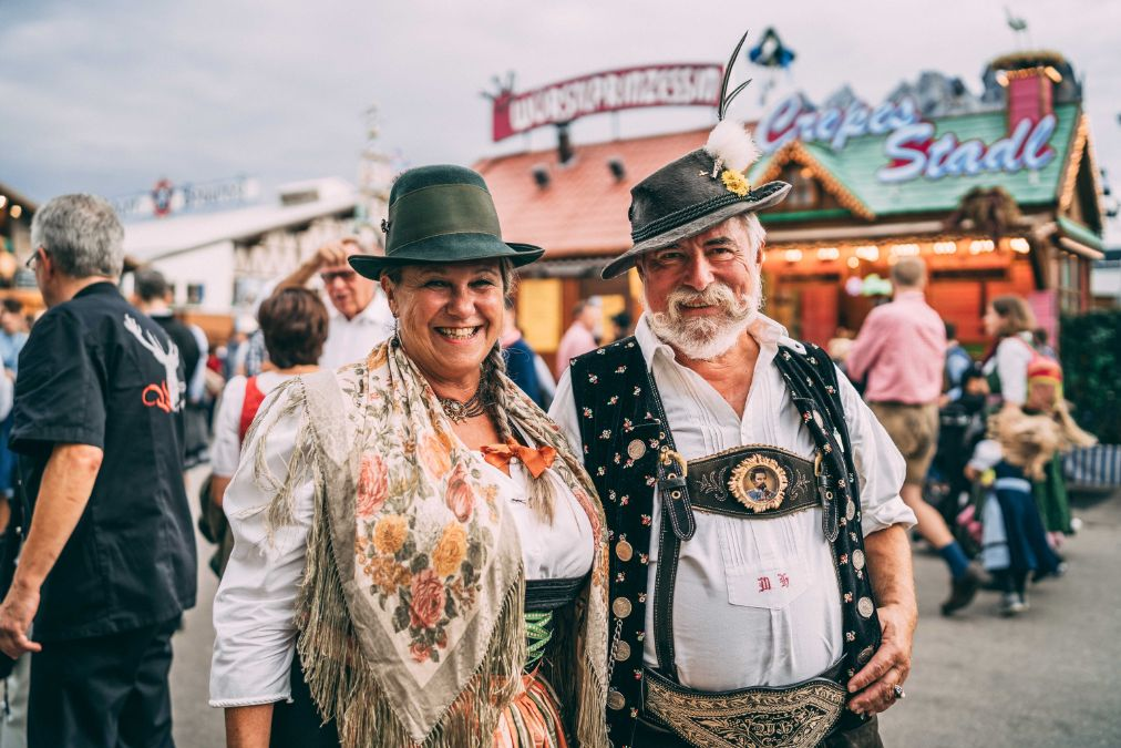 Traditional Lederhosen at Oktoberfest