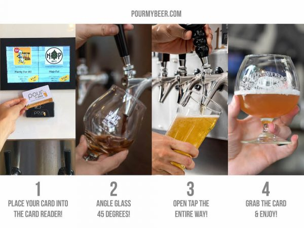 How to pour your own beer